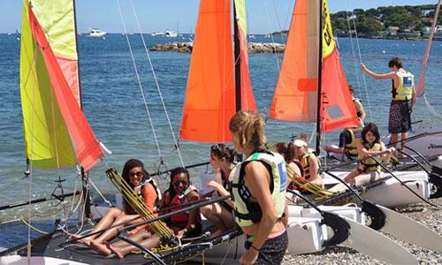 Schülersprachreise nach Frankreich - Antibes