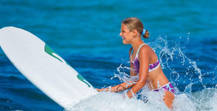 Schülersprachreise mit Surfen in Frankreich
