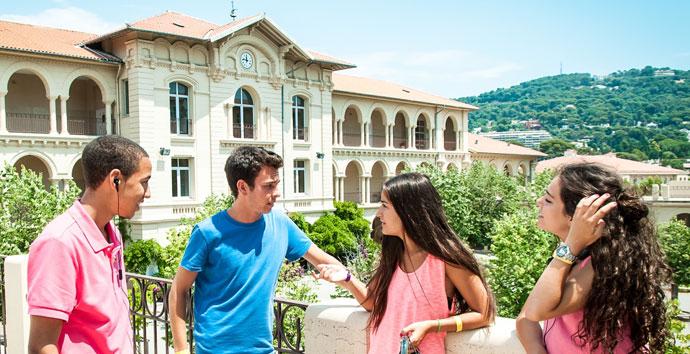 Schülersprachreise Cannes