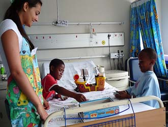 Freiwilligenarbeit in Südafrika - Childrens Hospital