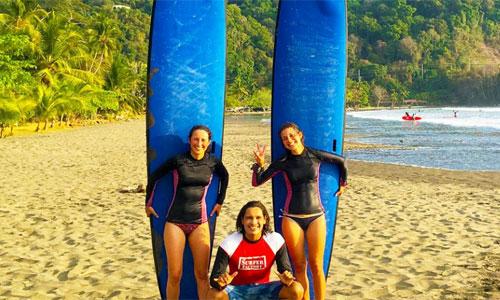 Sprachkurs Spanisch in Costa Rica mit Surfen