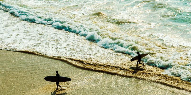 Französischkurs und Surfen in Frankreich