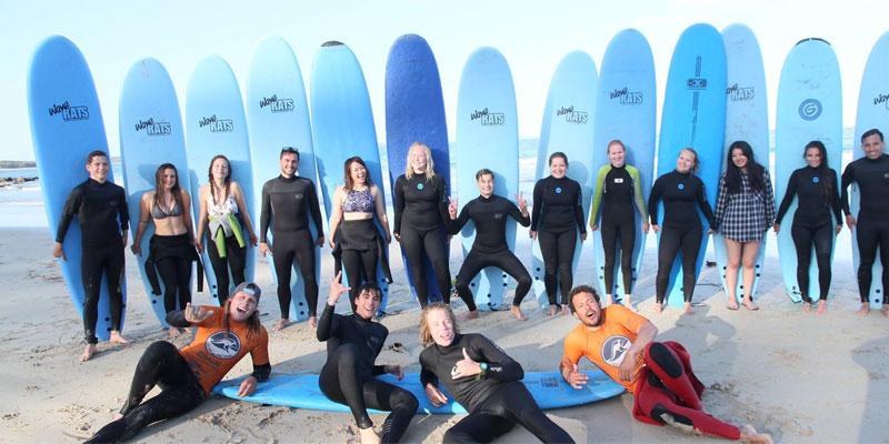 Sprachreise nach Australien - Englisch lernen und Surfenurfen