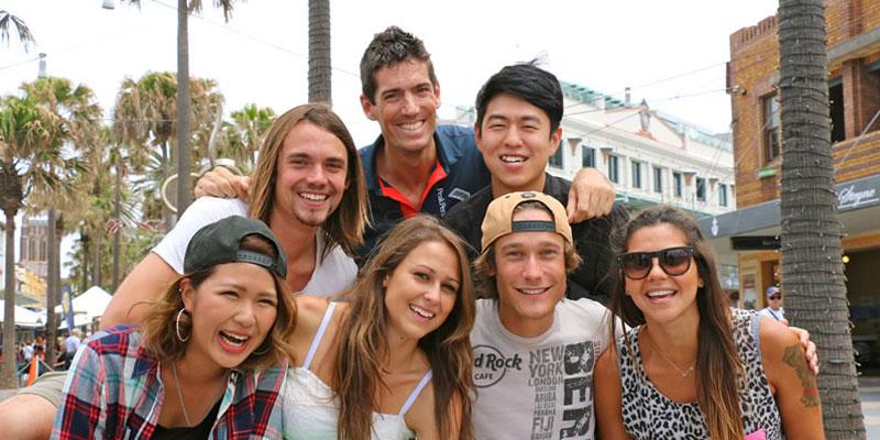 Erwachsenen Sprachreise Sydney mit Englischkurs und Surfen