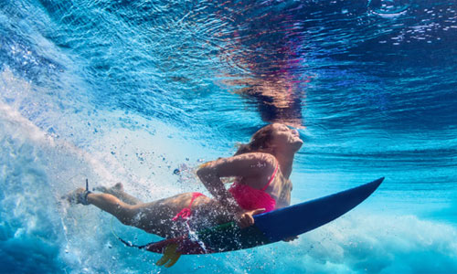 USA Sprachreise mit Surfen und Yoga in Kalifornien