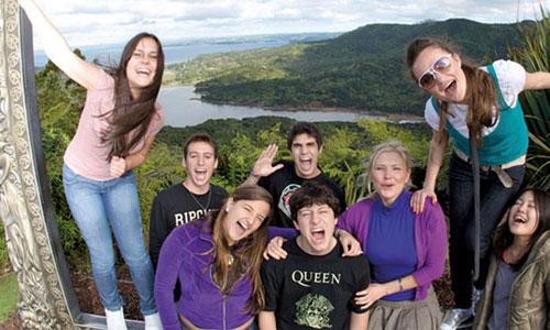 Schülersprachreise Neuseeland
