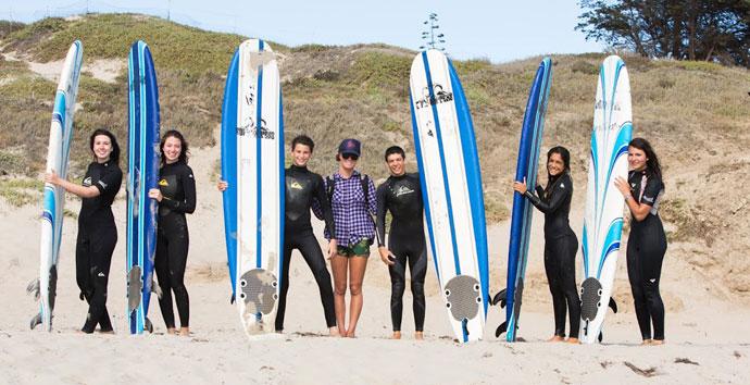 Schülersprachreise nach Kalifornirn mit Surfen