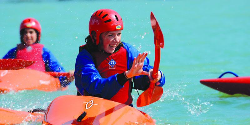 Schülersprachreise England mit Wassersport