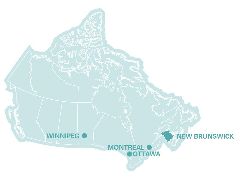 Karte Australien Englisch.Kanada Bilinguales Programm Englisch Franzosisch In Quebec