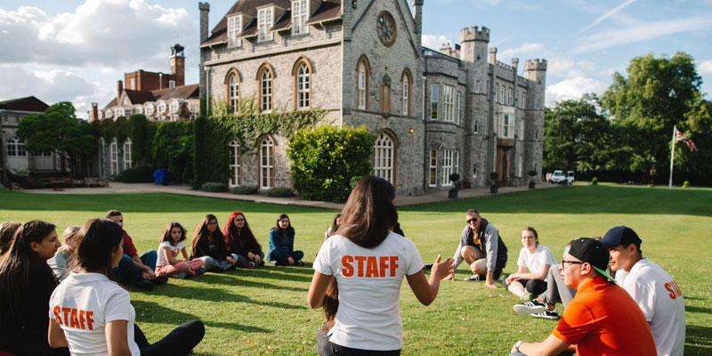 Schülersprachreise England im Leadership Camp