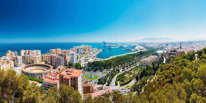 Erwachsenen Sprachreise Malaga, Andalusien