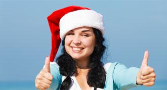 Erwachsenen Sprachreisen über Weihnachten
