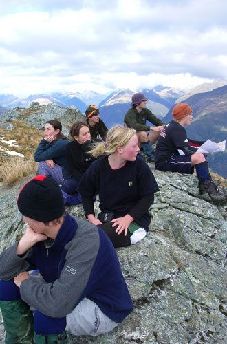 outdoor education in neuseeland