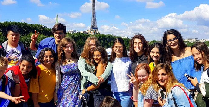 Paris Sprachreise für Schüler ab 13 Jahre