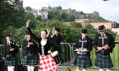 Sprachreise Edinburgh, Schottland