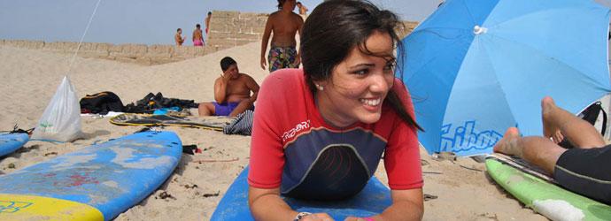 Spanien Sprachreise für Schüler mit Surfen