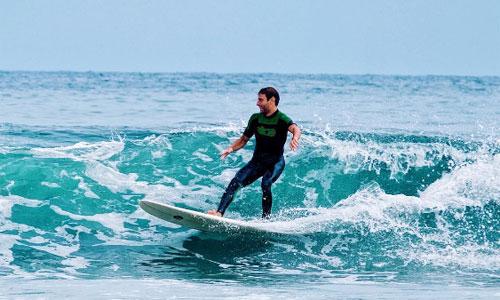 Sprachreise nach Spanien mit Surfen