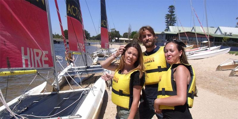 Australien Sprachreisen nach Perth mit Englischkurs und Segeln