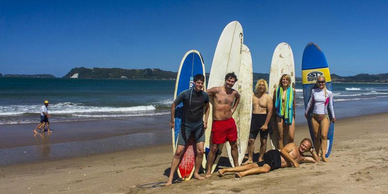 Englischkurs und Tauchen oder Surfen in Neuseeland