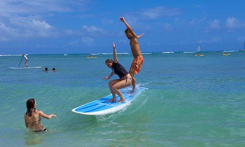 Englischkurs mit Surfen in den USA - Hawaii