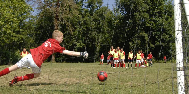England Sprachreise für Schüler mit Fußball